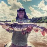 pescaria de pintado na pousada barra do arica, nosso cliente vip alexandre
