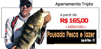 [ Pousada Pesca e Lazer ] Venha pescar no Lago do Peixe!!!