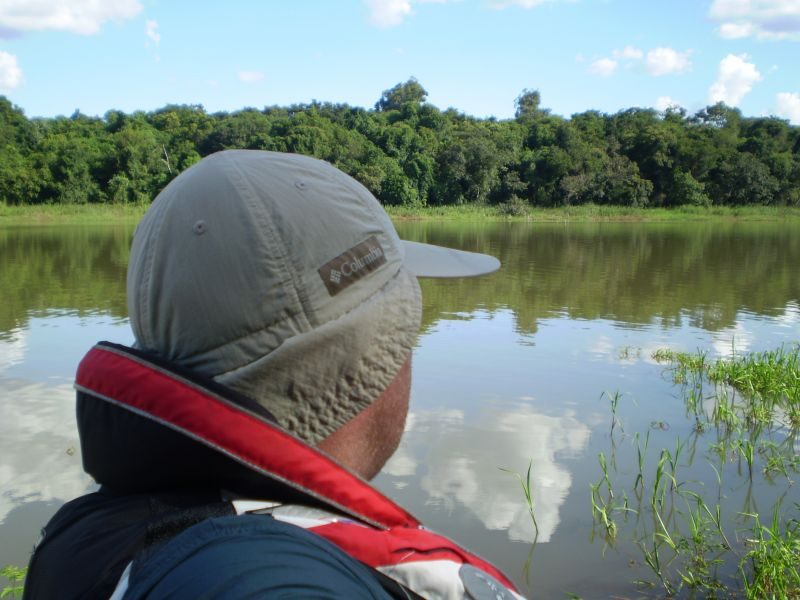 Lago de Itaipu - Localização Porto Mendes