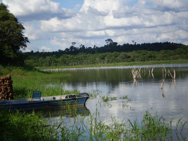 """Lago de Itaipu ... localização """"Porto Mendes"""""""
