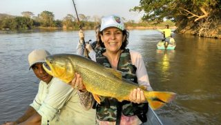 pesca esportiva dourado